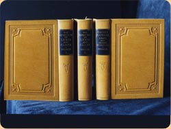 New leather book covers - Book Crafts - Where to get your books repaired