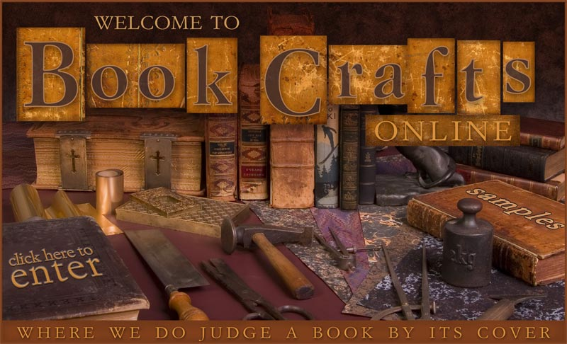 Book Crafts Online - Where to get your books repaired!